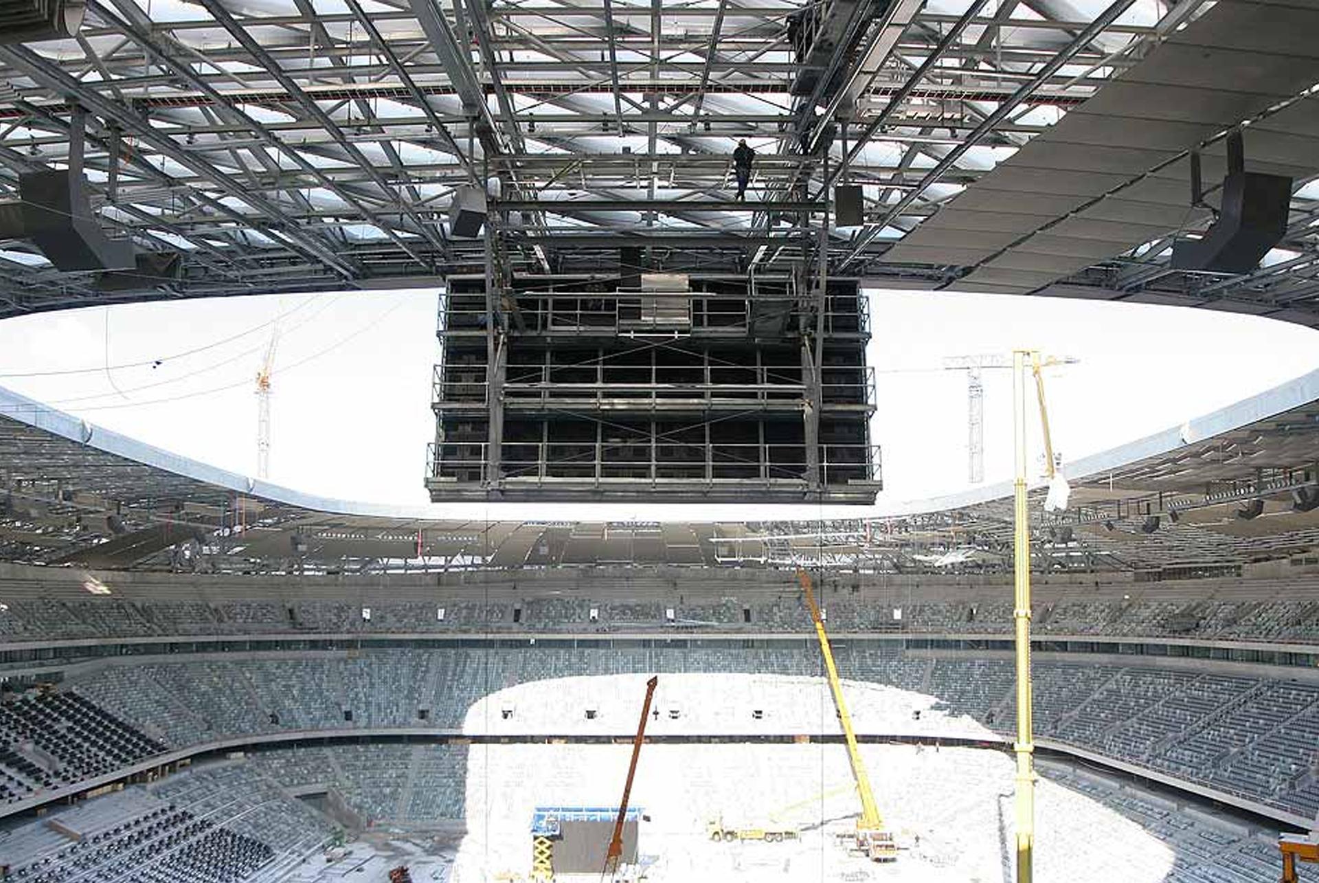 LED Anzeige Tafel Allianz Arena